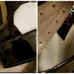 Pleaser Shoes - Pleaser ultra goth tuxedo oxford platform heels